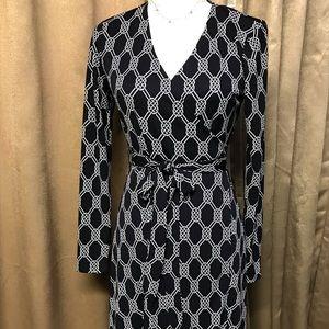 Jones NY Signature Wrap Dress P/S